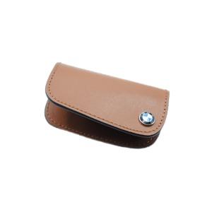 BMW レザー キーケース ブラウン 9934 - 拡大画像
