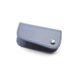 BMW レザー キーケース ブルー 9935 - 拡大画像
