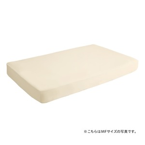 スーパーフィットシーツ|ボックスタイプ(ベッド用)LFサイズ(D-Q) 【アイボリー】 - 拡大画像