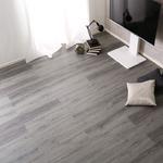 はめこみ式フロアタイル アッシュオーク 12枚セット 【Wood Flats-ウッドフラッツ-】