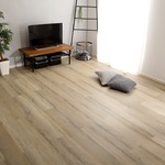 はめこみ式フロアタイル シャビーオーク 96枚セット 【Wood Flats-ウッドフラッツ-】