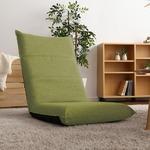 シンプルボリューム ハイバック座椅子 グリーン 完成品