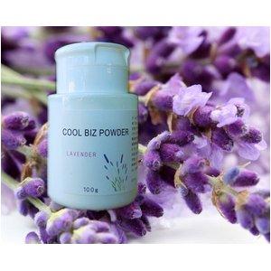 ラベンダーの香りで熱中症対策 心もお肌も同時に癒すクールビズパウダーL - 拡大画像