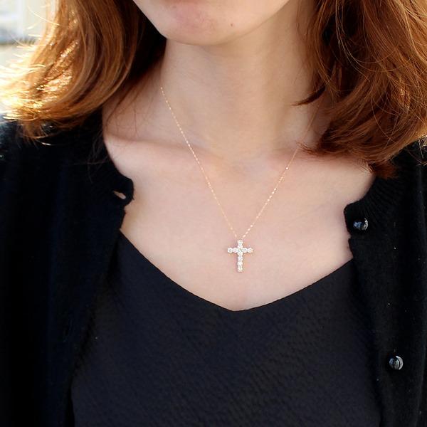 6万円台のお買い得なダイヤモンドネックレス