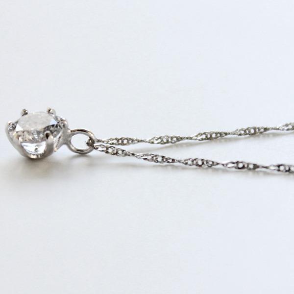 プラチナ 900 0.3ct ダイヤモンドペンダント