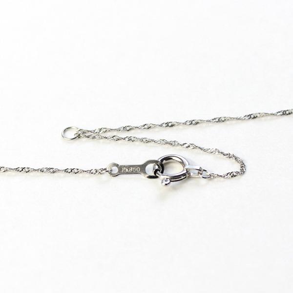 0.5ct 純プラチナ ダイヤモンド ペンダント ネックレス2