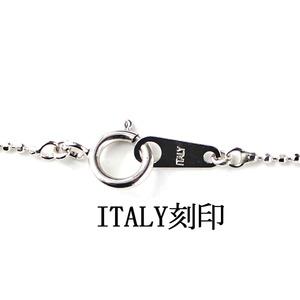 シルバー 925 イタリア製 カットボールチェーン ネックレス チェーン