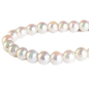 真珠 ネックレス あこや 本真珠 9mm珠 イヤリング 冠婚葬祭 母の日 - 拡大画像