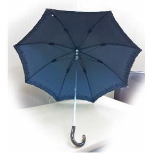 テイジン ナノフロント使用 遮熱パラソル(晴雨兼用傘) ブラック