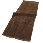 バスタオル卒業宣言 ウッドブラウン4枚セット 33×100cm ロングフェイスタオル