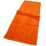 バスタオル卒業宣言 サンセットオレンジ4枚セット 33×100cm ロングフェイスタオル
