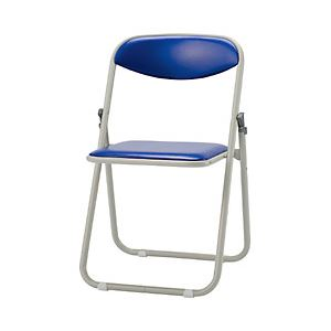 サンケイ 折りたたみ椅子 ブルー 型番:CF107-MX-BL-1