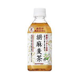 【まとめ買い】サントリー 胡麻麦茶 1箱(350ml×24本)