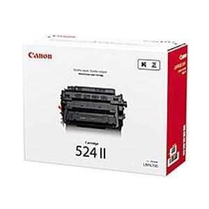 【純正品】 キヤノン(Canon) トナーカートリッジ 型番:カートリッジ524II 印字枚数:12500枚 単位:1個 - 拡大画像