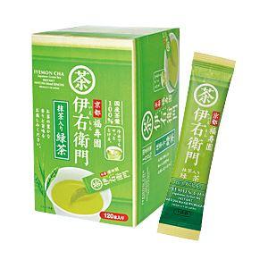 【まとめ買い】宇治の露製茶 伊右衛門 インスタント緑茶スティック 1箱(0.8g×120本)