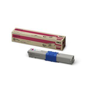 【純正品】 OKI(沖データ)対応 トナーカートリッジ マゼンタ 小容量 印字枚数:2000枚 1個 型番:TNR-C4KM3