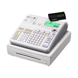 カシオ(CASIO) 電子レジスター 本体 TE-2600-25S 25部門2シート - 拡大画像