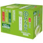 【まとめ買い】宇治の露製茶 伊右衛門 インスタントスティック アソートパック 1箱(0.8g×120本) 3種のお茶入り
