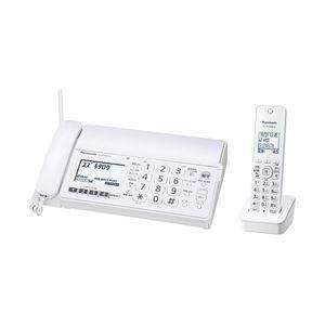 パナソニック おたっくすFAX KX-PD304DL-W ホワイト 子機1台付き KX-PD304DL-W - 拡大画像