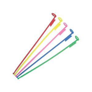 (業務用セット) 風船用スティック 1パック(20本) 【×20セット】 - 拡大画像