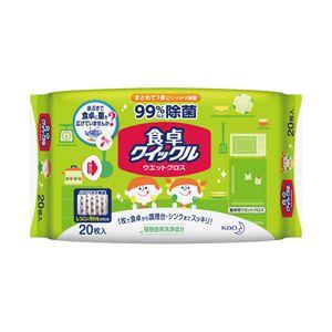 (業務用セット) 花王 食卓クイックル シートタイプ 1袋(20枚) 【×10セット】 - 拡大画像