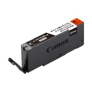 (業務用セット) キヤノン(Canon)対応 エコリカ リサイクル インクカートリッジ ブラック(大容量) 対応純正型番:BCI-351XLBK 単位:1個