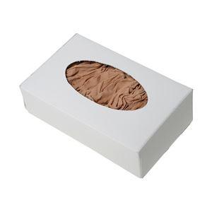 (業務用セット) 伊藤忠リーテイルリンク 試着用くるぶしストッキング フリーサイズ 1箱(100枚) 【×3セット】 - 拡大画像