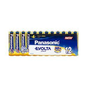 (業務用セット) パナソニック アルカリ乾電池 エボルタ 単4形 1パック(12本) 【×3セット】 - 拡大画像