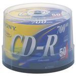 (業務用セット) ソニー CD-R 700MB ブランドレーベル スピンドルケース 50枚入 【×3セット】
