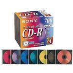(業務用セット) ソニー 個別ケース入 CD-R 21枚 型番:21CDQ80EX 【×3セット】