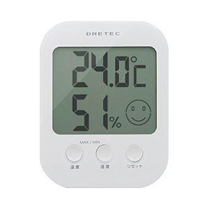 (業務用セット) ドリテック デジタル温湿度計「オプシス」 【×2セット】 - 拡大画像