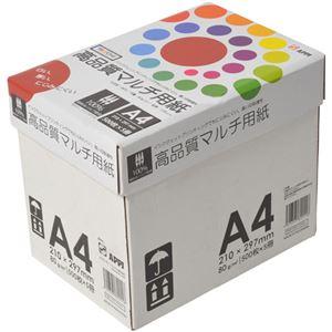 APPJ 高品質マルチ用紙 A4箱 500枚×5冊 型番:PTK001ハコ - 拡大画像