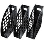 ハピラ ファイルBOXブラック FBXBK 1パック(3個)