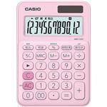 カシオ計算機 カラフル電卓 ペールピンク MW-C20CPK-N 1台