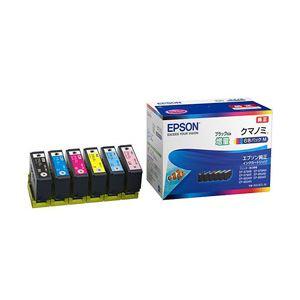 EPSON 純正インクカートリッジ 6色 KUI-6CL-M 1パック(6色) - 拡大画像