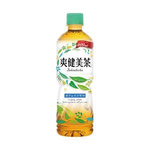 コカ・コーラ 爽健美茶600ml 1箱(24本) - 拡大画像