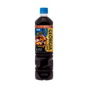 コカ・コーラ ジョージアボトルコーヒー無糖 1箱(950ml×12本) - 拡大画像