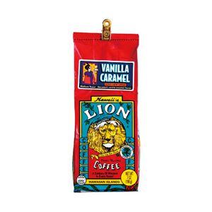 ハワイコーヒーカンパニー ライオンコーヒー バニラキャラメル 1袋(198g) - 拡大画像