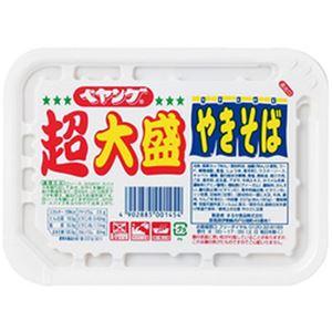 (まとめ)まるか食品 ぺヤング ソースやきそば 超大盛 1箱(12個)【×2セット】 - 拡大画像