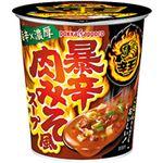 ポッカサッポロ 辛王 暴辛肉みそ風スープカップ 1セット(18.5g×24個)