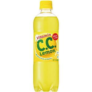 (まとめ)サントリー CCレモン 500ml 1箱(24本)【×2セット】