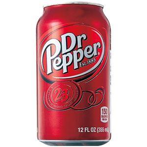 (まとめ)ドクターペッパー 355ml 1パック(6本)【×5セット】