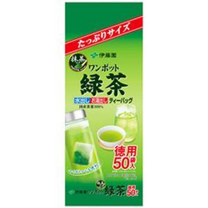 (まとめ)伊藤園 ワンポットティーバッグ 抹茶入り緑茶50袋【×10セット】 - 拡大画像