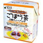 (まとめ)SIP ごぼう茶三角ティーバッグ 18P【×10セット】