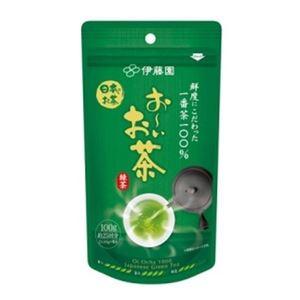 (まとめ)伊藤園 おーいお茶 一番茶摘み緑茶 1袋(100g)【×5セット】 - 拡大画像