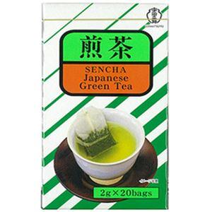 (まとめ)宇治の露 煎茶 ティーバッグ 1パック(2g×20袋)【×20セット】 - 拡大画像