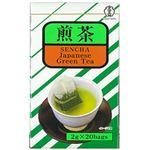 (まとめ)宇治の露 煎茶 ティーバッグ 1パック(2g×20袋)【×20セット】