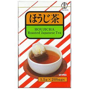 (まとめ)宇治の露 ほうじ茶 ティーバッグ 1パック(1.5g×20袋)【×20セット】 - 拡大画像