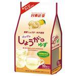 (まとめ)日東紅茶 しょうが&ゆず 1袋(10g×10袋)【×10セット】