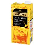 (まとめ)トワイニング アイスティー アールグレイ 無糖 1箱(1000ml×6本)【×3セット】